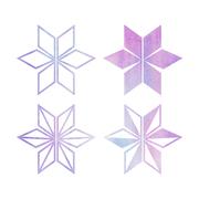 눈꽃 수채화 07