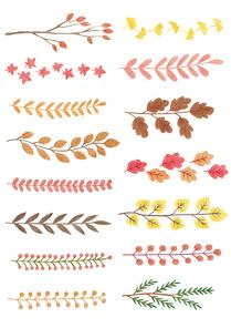 가을 색연필화 02