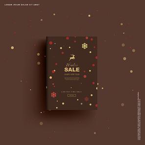 크리스마스 백그라운드, 겨울 포스터, 북 프레임_005