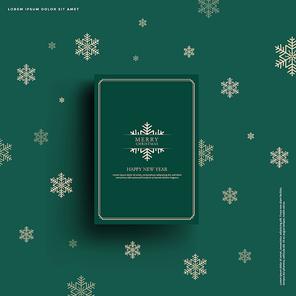 크리스마스 백그라운드, 겨울 포스터, 북 프레임_007