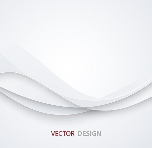 White elegant business background.  Vector illustration. Paper design. White elegant business background.