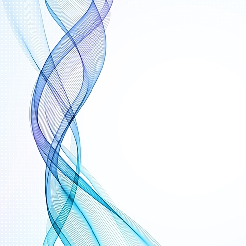 Vector Abstract empty background with smoke wave