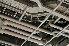 천장 배관 및 설비 인테리어
