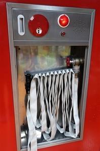 급수관이 설치괸 소화 호스를 장치하기 위한 시설 옥내 소화전