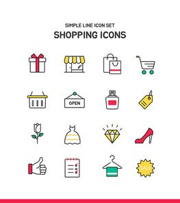 심플라인 아이콘 쇼핑 1