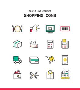 심플라인 아이콘 쇼핑 2