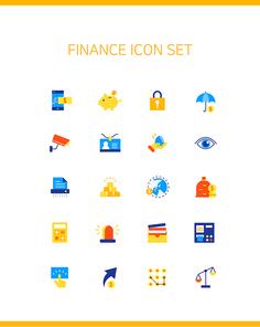 3. 심플아이콘-금융