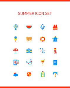5. 심플아이콘-여름