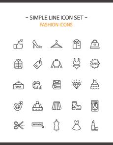 심플라인 아이콘 패션 14