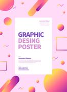 그래픽 도형 포스터 01