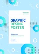 그래픽 도형 포스터 06