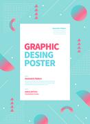 그래픽 도형 포스터 09