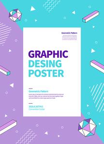그래픽 도형 포스터 10