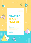 그래픽 도형 포스터 12