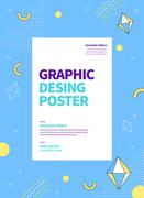 그래픽 도형 포스터 13