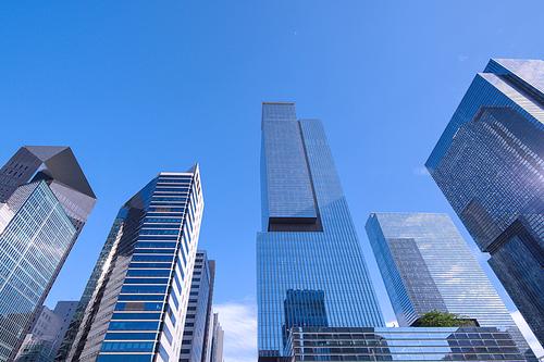 강남역 고층빌딩들