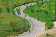 한강 자전거도로