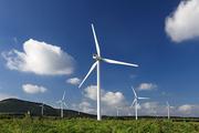풍력발전 풍경