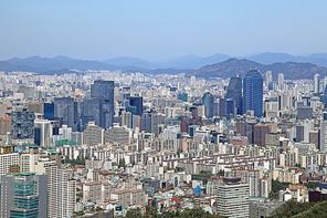 강남 도시풍경