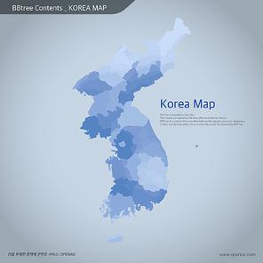 Korea map 08