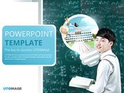 파워포인트 배경 (교육) 수학 학원