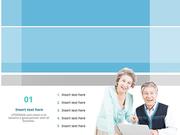 파워포인트 배경 (복지) 노후 교육
