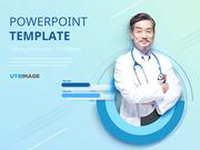 파워포인트 배경 (의학) 신뢰받는 의사