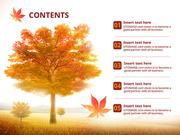 파워포인트 배경 (자연) 가을 들판