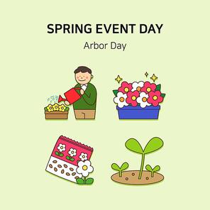 봄기념일아이콘 013