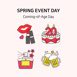 봄기념일아이콘 029