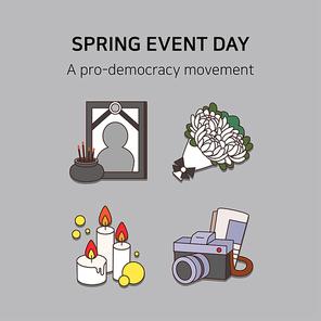 봄기념일아이콘 035