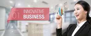 Business Banner & leaflet 3