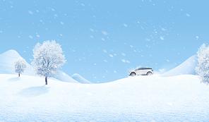 겨울 배경 008