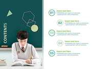 파워포인트 배경 (교육) 수능 공부