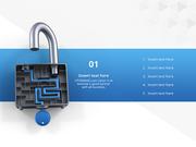 파워포인트 배경 (보안) 보안과 미로