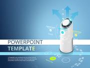 파워포인트 배경 (전자) 공기 청정기