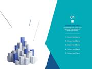 파워포인트 배경 (비즈니스) 구조물