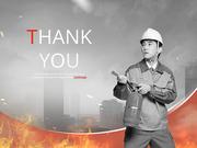파워포인트 배경 (안전) 화재 예방