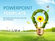 파워포인트 배경 (환경) 친환경 에너지 활용