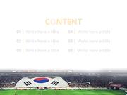 파워포인트 배경 (스포츠) 대한민국 월드컵