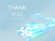 파워포인트 배경 (IT) 5G 속도