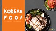 파워포인트 배경 (음식) 한국의 음식 족발 - 와이드