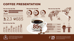 Presentation template slide