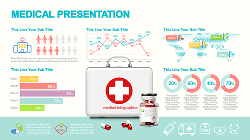 Presentation template slide