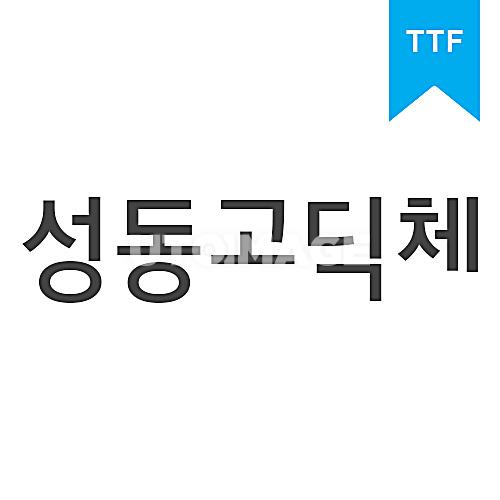 성동고딕BTTF