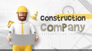 건설 회사 (건축) 프리젠테이션 템플릿