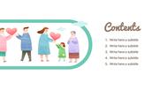해피투게더 (가족,사회) PPT 표지