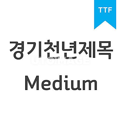 경기천년제목 MediumTTF