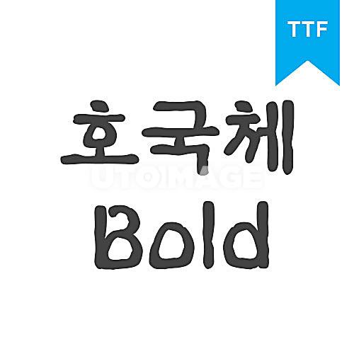 호국체 BoldTTF