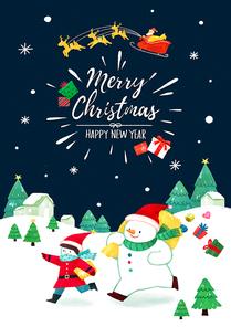 크리스마스카드 012